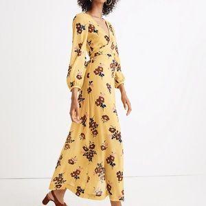 Madewell Wrap-Around Maxi Dress Size 2